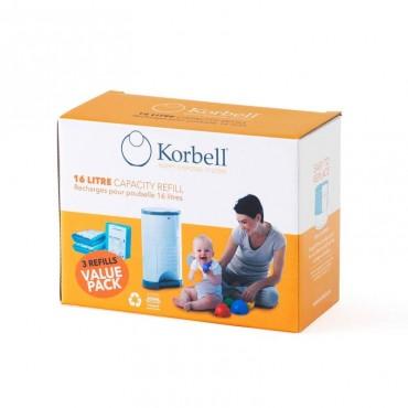 Pack ahorro recambios Korbell