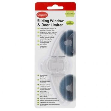 Tope para ventanas y puertas correderas CLIPPASAFE