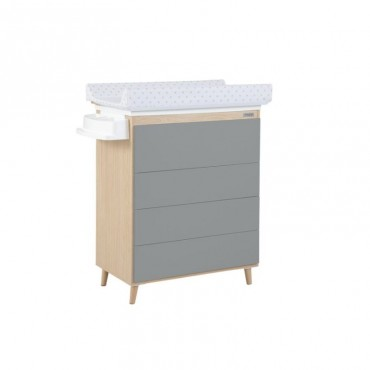 Mueble bañera / cambiador B-1921 NATURE de MICUNA Gris