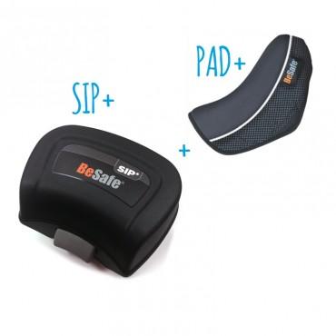 BESAFE SIP+ y almohadilla PAD+ para sillas iZi Flex