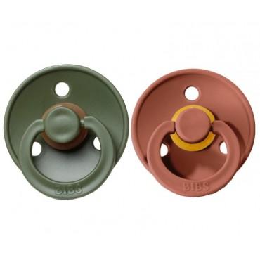 BIBS Pack de 2 chupetes (varios colores)