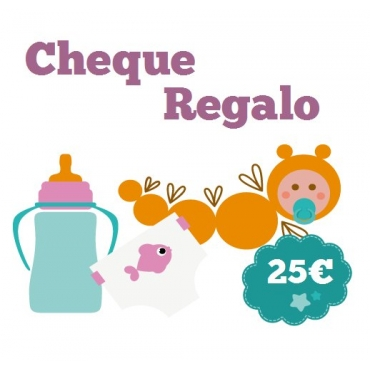 Cheque Regalo 25€