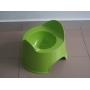 Orinal plástico verde