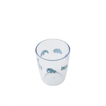 Vaso Yummy transparente de DONE BY DEER (Varios colores)