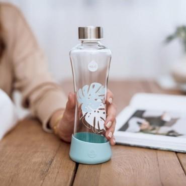 EQUA Botellas de cristal reutilizables