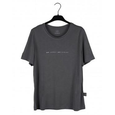 """Colección """"Soy feminista"""" Camiseta """"No somos invisibles"""" Gris"""