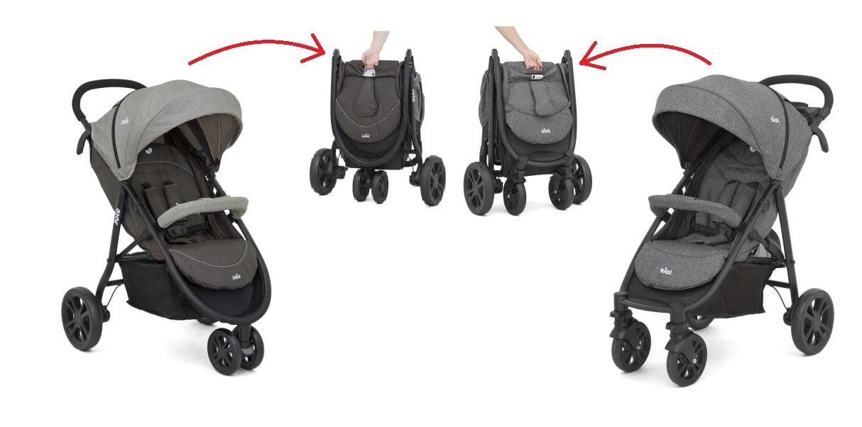 966a600f6 Plegado compacto y rápido con una sola mano, sólo tira y listo! Reclinado  completo. Ideada y diseñada para transportar a tu hijo desde el nacimiento.