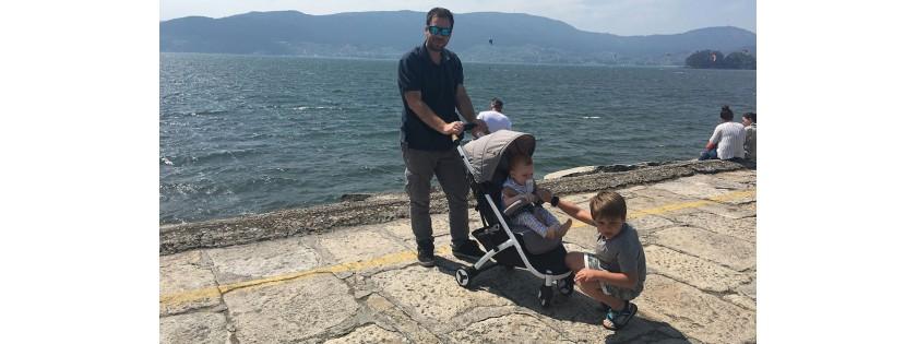Viaje en barco…  ¡con bebé!